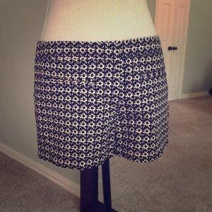 Black and Tan patterned Cynthia Rowley shorts